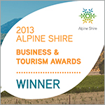 Alpine Shire Business of the Year Award